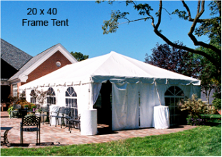 Pole Tent Versus Frame Tent & FAQ - Tents r us